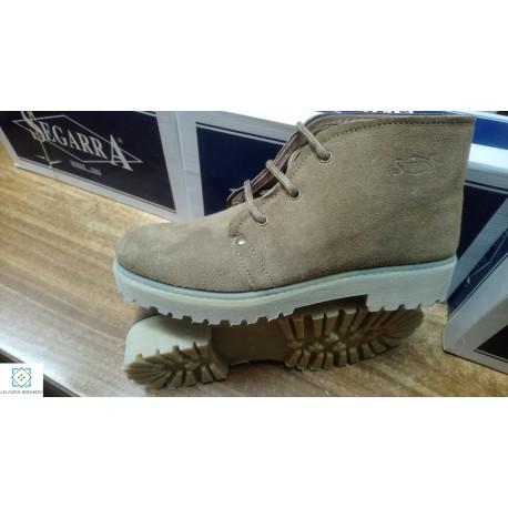 Boot split leather serape crepe 101