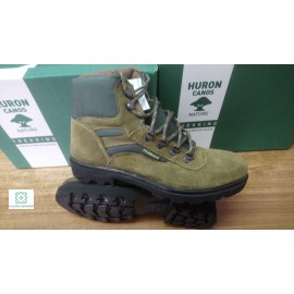 Huron green trekking boot