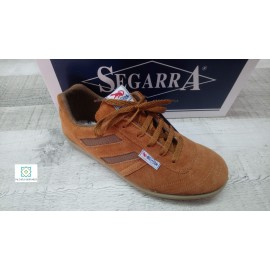 Deportivo Segarra brown suede leather