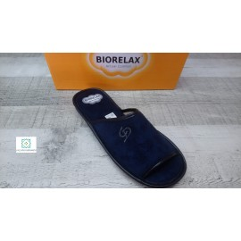 Biorelax blue or camel heel and open toe