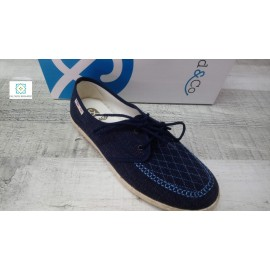 Cosdam jc series navy shoe laces sizes 39 to 46