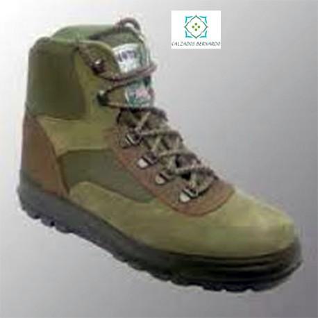 comprar online 6f447 2fc53 Bota trekking cazador notton verde - Calzados Bernardo