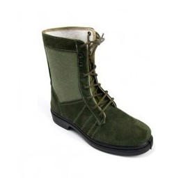 High boot green hunter gray
