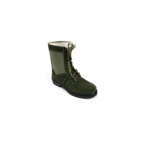 High boot green hunter gray