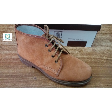 boot leather split leather canos